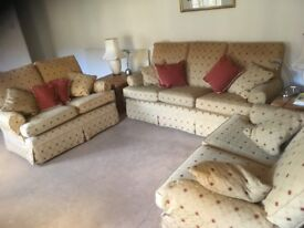 Multiyork 2 and 3 seater sofas for sale