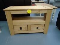 Brand New Pine Corner Tv Unit. Already Built And Can Deliver. Retails At £169.99