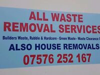 All Waste Removals-Rubbish Clearance-Builders Waste Clearance -Garden Services.