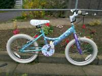 Girls dottie bike