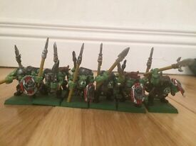 Warhammer Fantasy Orc Spearmen