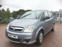 2007 Vauxhall Meriva 1.4 MPV full year mot ideal family runabout
