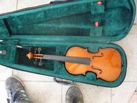 new violin in case £15