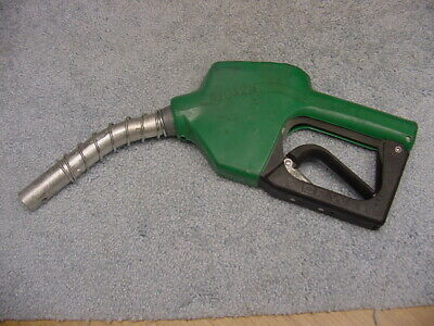 Opw Green Leaded Gasoline Fuel Nozzle 11a-0100