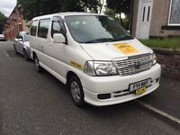 2011 TOYOTA HIACE MINIBUS 9 SEATER MANCHESTER TAXI