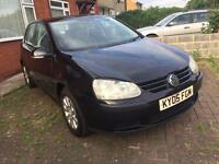 2005 VW GOLF 1.9 TDI BLACK