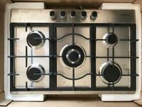 Gas Hob new Stainless Steel