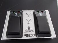 Behringer AB200 footswitch for drum machine
