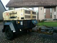 Compressor ingersoll rand 90cfm 8.4bar 3clinder diesel