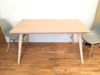 Beautiful Scandinavian style dining table