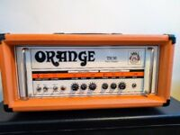 Orange TH30 Guitar Amplifier in like new condition, and footswitch