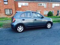 Offers considered! 2012 Nissan Micra, 1 Year MOT, FSH, 2 keys-