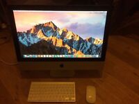 """iMac 21.5"""" Late 2009 and 3.06 Ghz, 8GB RAM, 500GB HardDrive with Box"""