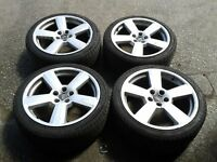 AUDI ALLOYS(18 INCH) FOR SALE AT £280.00