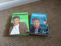Jeremy Clarkson 2 Hard Back Books. Driven to Distraction and How Hard Can It Be Volume 4
