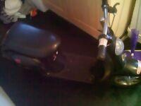 Razor moped needs tlc