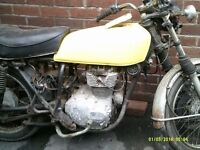 honda cb250 1976 project