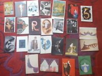 Collection of postcards for craft projects - FREE