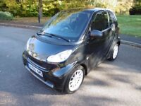 Smart Car Fortwo Coupe PASSION CDI Full Smart Service History (black metallic) 2011