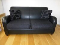 Double sofa bed, excellent condition