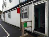 12 x 48 foot Portacabin with Offices and Small Kitchen Area. Excellent condition, £5000 ovno.