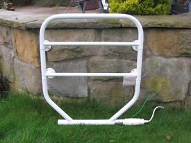 DIMPLEX Towel Radiator. 120W. 54cm Wide x 62cm H x 11.5cm Projection off the wall. Good Condition.