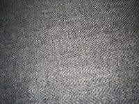 A length of new woollen Tweed Material bought in the outer Hebrides,