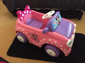 Minnie Mouse 6V Electric Ride On Car