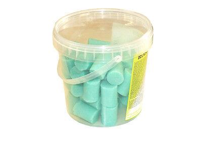 1 kg Beckensteine für Urinal WC Toilette grün Fichte Kiefer Duft Duftsteine