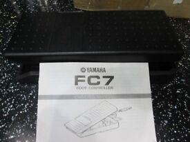 Yamaha FC7 Guitar foot pedal as new
