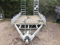 Indespension 3500kgs plant trailer