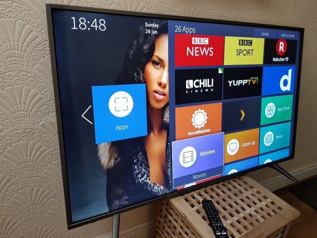 NEW & BOXED Hisense 55 inch 4K UHD HDR10 Smart LED TV Freeview & FREESAT  HD,EXCELLENT CONDITION | in Salford, Manchester | Gumtree