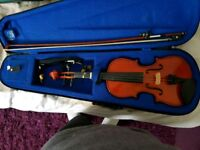 1/2 violin and bow