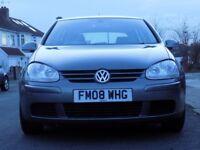 Volkswagen Golf 1.9 TDI Match Hatchback 5dr£2,500 2008 (08 reg), Hatchback