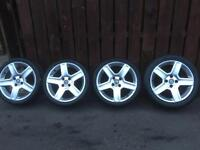 """BERLINGO PARTNER 306-307-308-405-406-17""""CHALLENGERS WITH FOUR NEW TYRES AS SHOWN IN PICTURES"""