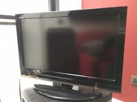 "Toshiba Regza 32"" HD TV with stand"