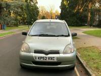 TOYOTA YARIS T3 1.0L 99850 WARRANTED MILES 6 SERVICES HPI CLEAR EXCELLENT CONDITION