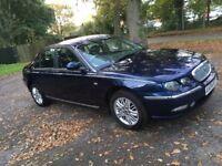Rover 75 1.8 petrol manual saloon - 2004 - midnight blue - 12 months MOT