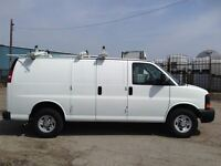 2014 Chevrolet Express 2500 ladderrack, shev.fin or lease from4.