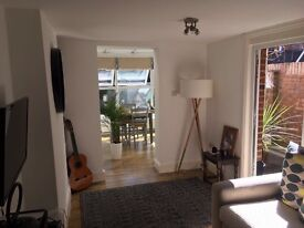 Characterful two bed, split level garden flat in West Hampstead