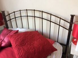 Vintage style king size bed