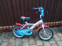 Apollo Rocketman Boys 14in Wheel Bike for sale