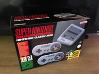 Brand-New Nintendo SNES Mini Console Swap for a iPhone 6s