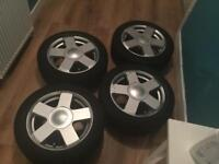 "Alloy Wheels (15"") and Tyres"