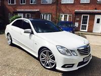 MERCEDES E350 CDI AMG SPORT AUTO - PANORAMIC ROOF - FULL MERCEDES SERVICE HISTORY - 63K - HPI CLEAR