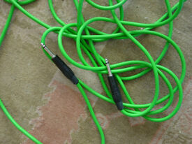 pirahna professional jack to jack Audio cable 6 metres
