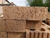 Buff gold facing brick x4 pallets