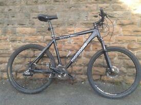 Mongoose Super TYAX Large Hard Tail Mountain Bike Hydraulic Disk Brake Lock Out Forks VGC