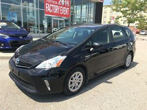 2012 Toyota Prius v ONE OWNER, ACCIDENT FREE, TOYOTA CERTIFIED