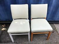 2 dining chairs FREE DELIVERY PLYMOUTH AREA